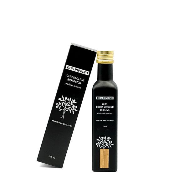 don pippino 250ml-bio 1 olivenoel verpackung italienisches olivenoel