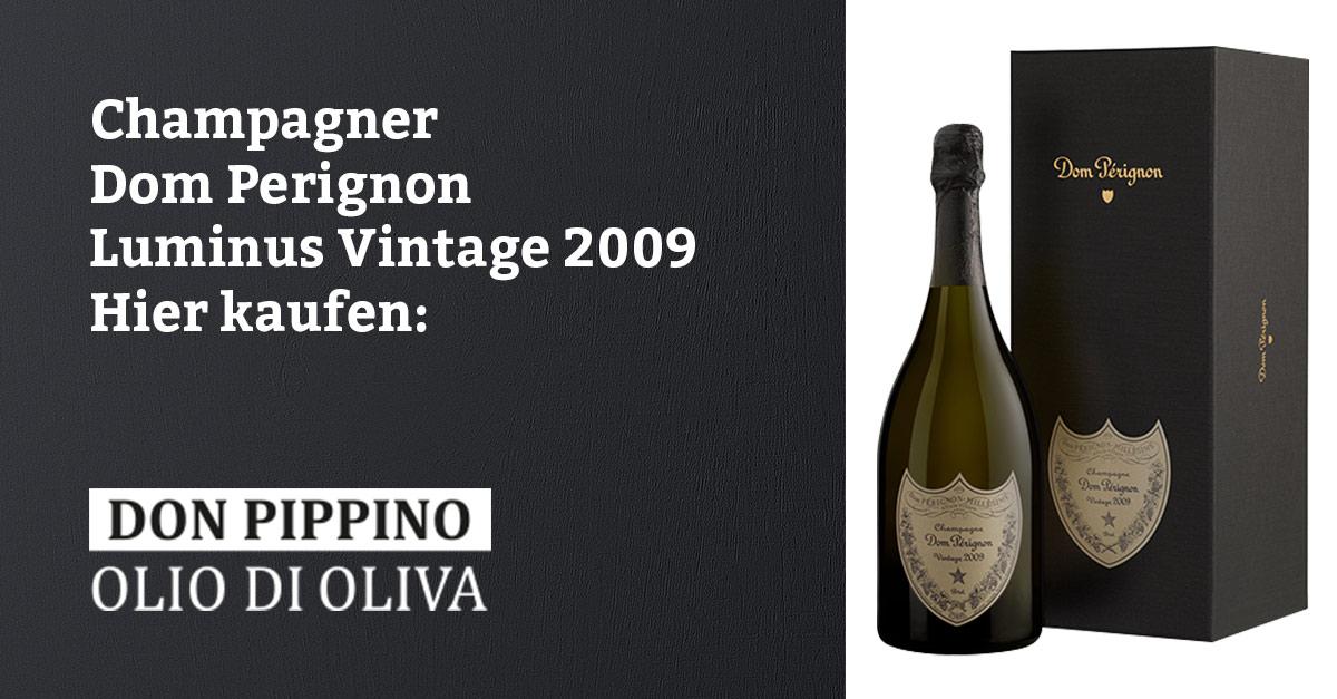 champagner dom perignon luminus vintage 2009 facebook don pippino italienisches olivenoel don. Black Bedroom Furniture Sets. Home Design Ideas